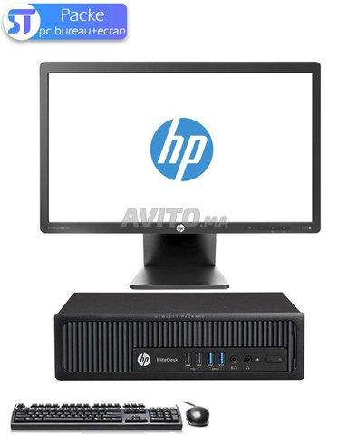 PC BUREAU HP EliteDesk 800 G1 USDT-Ecran - 1