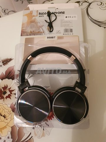 Casque blutooth neuf - 2