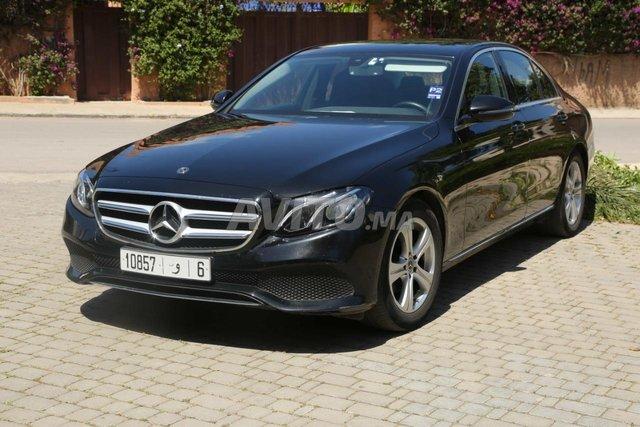 Voiture Mercedes benz Classe e 2017 au Maroc  Diesel  - 8 chevaux