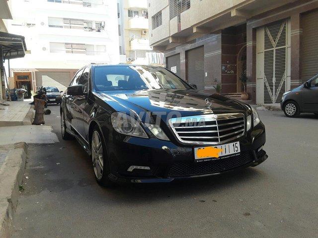 Voiture Mercedes benz Classe e 2011 au Maroc  Diesel  - 12 chevaux