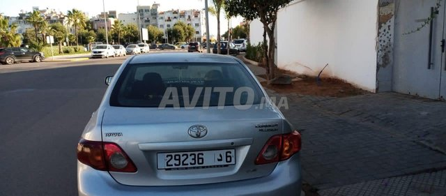 Voiture Toyota Corolla 2009 au Maroc  Diesel  - 5 chevaux