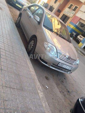 Voiture Toyota Corolla 2002 au Maroc  Diesel  - 8 chevaux