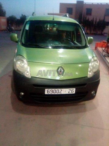 Voiture Renault Kangoo 2009 au Maroc  Diesel  - 8 chevaux