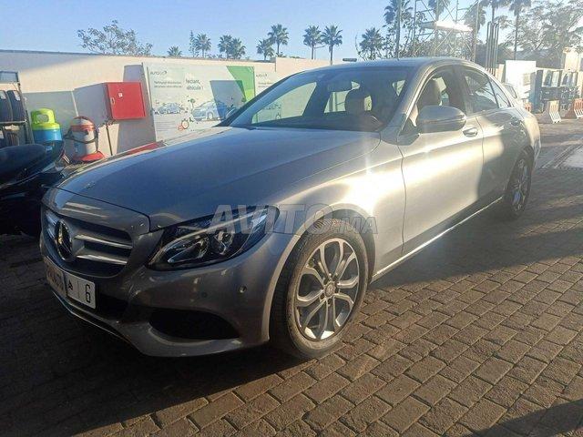 Voiture Mercedes benz Classe c 2015 au Maroc  Diesel  - 9 chevaux