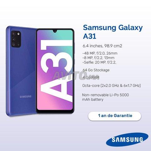 Samsung Galaxy A31 - 1