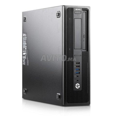 HP Workstation Z240 Core i7 vPro 3.4 GHz 16 Go Ram - 5