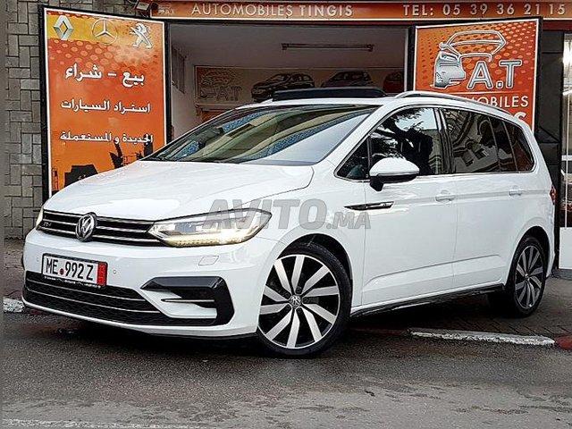 Voiture Volkswagen Touran 2017 au Maroc  Diesel  - 8 chevaux