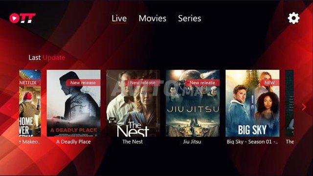 Abonnement 4K IPTV premium  4K UHD  - 1
