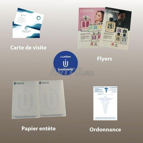 Entête - Flyers - Carte de visite - Ordonnances - 1