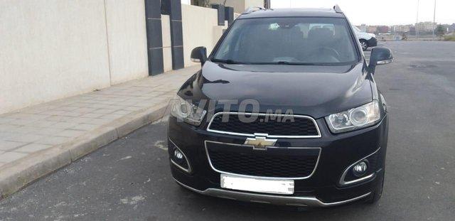 Voiture Chevrolet Captiva 2016 au Maroc  Diesel  - 9 chevaux