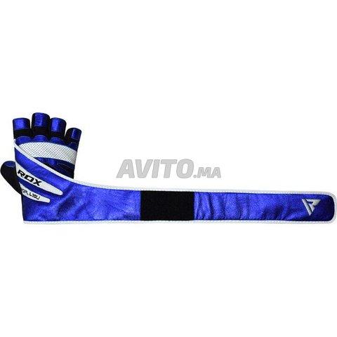 RDX L10 Bleu Gants de Musculation - 4
