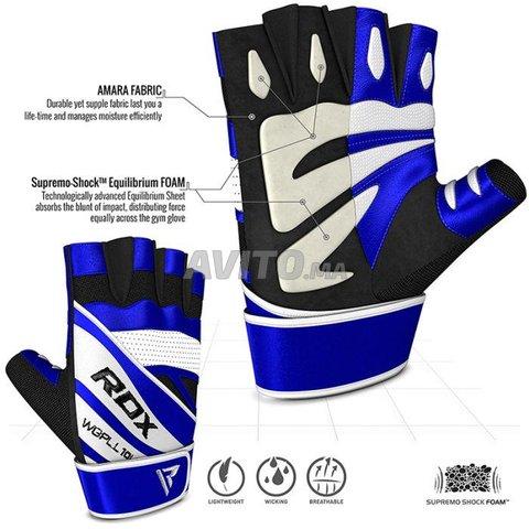 RDX L10 Bleu Gants de Musculation - 3