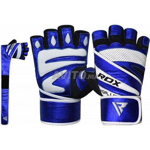 RDX L10 Bleu Gants de Musculation - 1