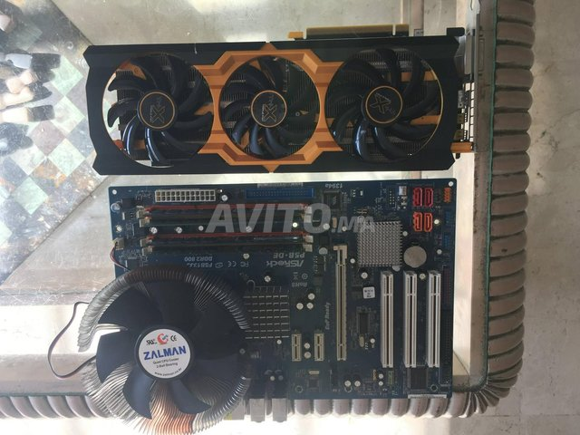 Pc gamer Xeon 4c/4t 3.16 Ghz - R9 280X - 6 gb RAM - 5