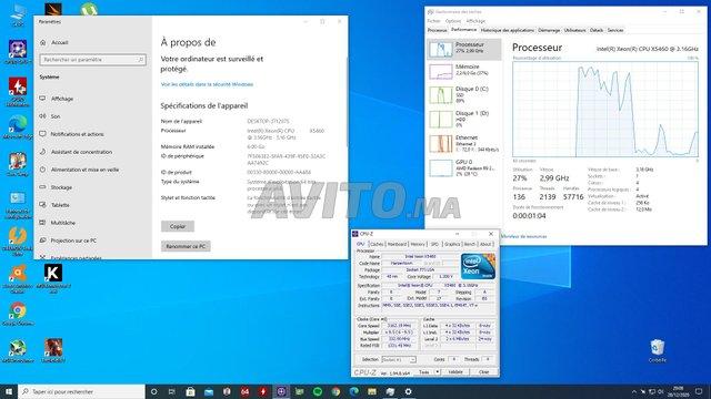 Pc gamer Xeon 4c/4t 3.16 Ghz - R9 280X - 6 gb RAM - 6