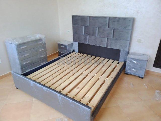 Crag 600 lit de chambre tapesserie bug - 5