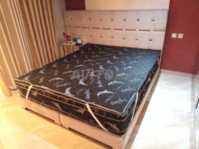 Crag 600 lit de chambre tapesserie bug - 4