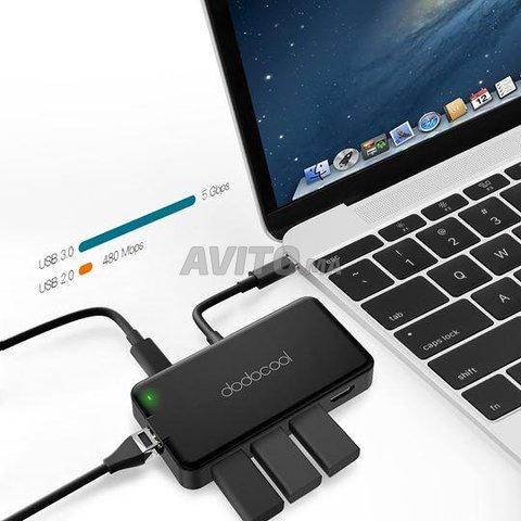 HUB USB-C Adaptateur Thunderbolt 7 en 1 - 5
