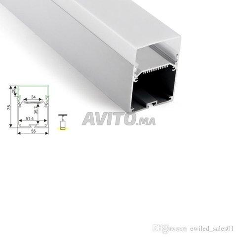 Profilé LED aluminium apparent PR024 - 2