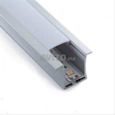 Profilé LED aluminium apparent PR024 - 4