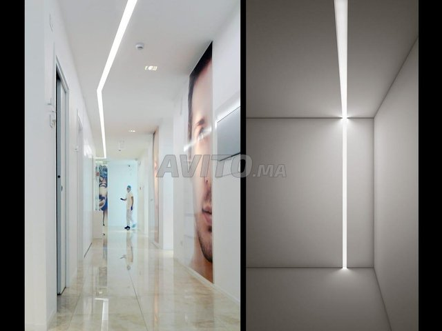 Profilé LED aluminium apparent PR0016 - 6