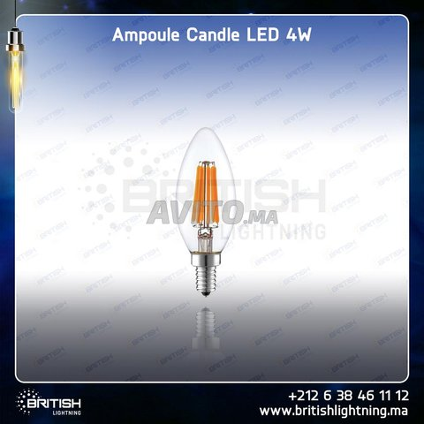 LED Candle (petite)  (filament et Nature Light) - 1