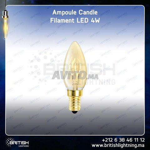 LED Candle (petite)  (filament et Nature Light) - 2
