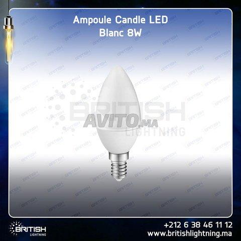 LED Candle (petite)  (filament et Nature Light) - 3