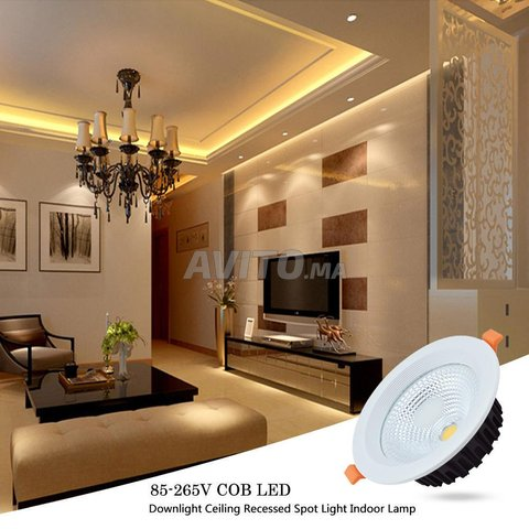 Spot LED encastrable fixe 30W-10W - 4