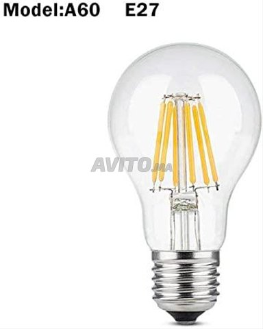 AMPOULE LED FILAMENT BULB E27 6W - 2