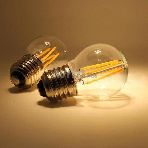 AMPOULE LED FILAMENT BULB E27 6W - 4
