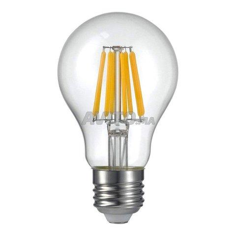 AMPOULE LED FILAMENT BULB E27 6W - 6