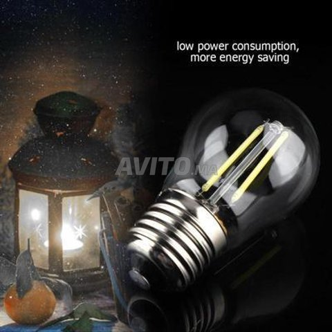 AMPOULE LED FILAMENT BULB E27 6W - 1