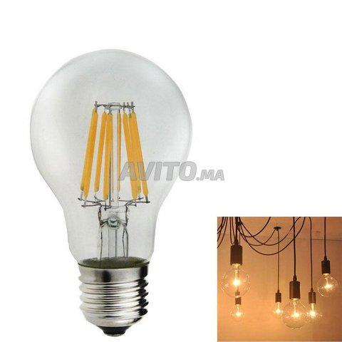 AMPOULE LED FILAMENT BULB E27 6W - 7