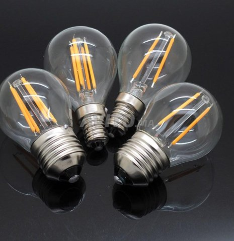 AMPOULE LED FILAMENT BULB E27 6W - 8