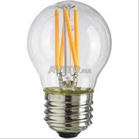 AMPOULE LED FILAMENT BULB E27 6W - 3