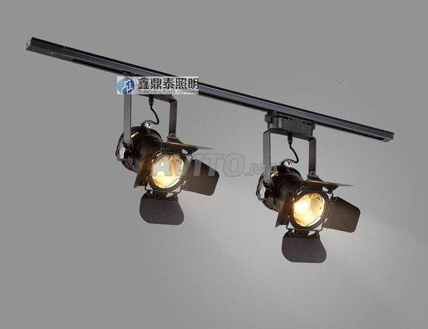 Éclairage sur rail de Loft (LED TRACK LIGHT ) 20W - 1