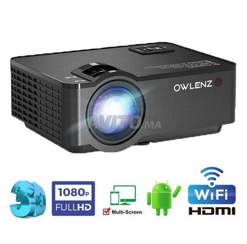 Smart Video Projecteur 2400 Lumens Android - 1