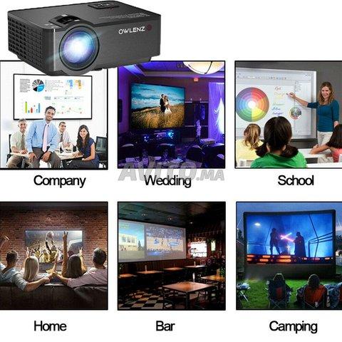 Smart Video Projecteur 2400 Lumens Android - 6
