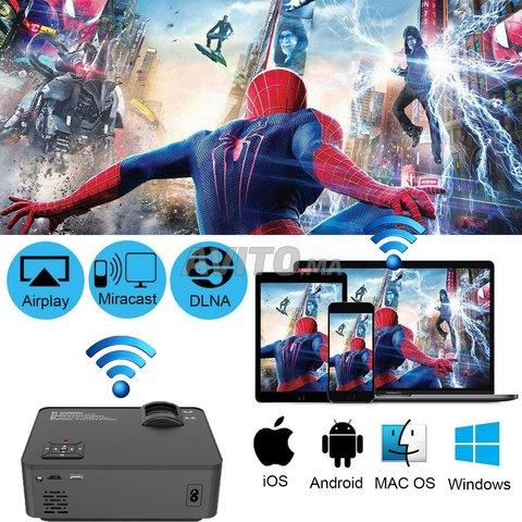 Smart Video Projecteur 2400 Lumens Android - 5
