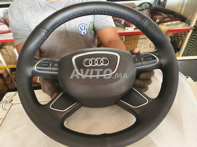 VOLANT AUDI A6 COMME NEUF AVEC AIRBAG - 1