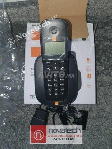Téléphone sans fil -Orange -TB201-Mono - 4