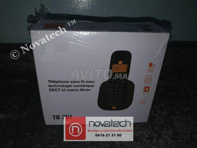 Téléphone sans fil -Orange -TB201-Mono - 3