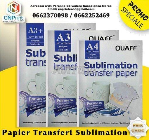 Papier de sublimation QUAFF  - 1