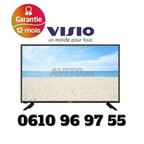 Visio TV 32'' Smart TV -  Recepteur integré - TNT - 1