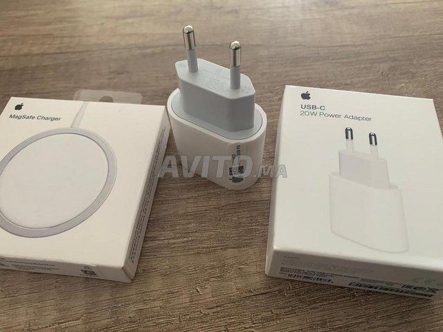 Chargeur sans fil magsafe avec adaptateur  - 3