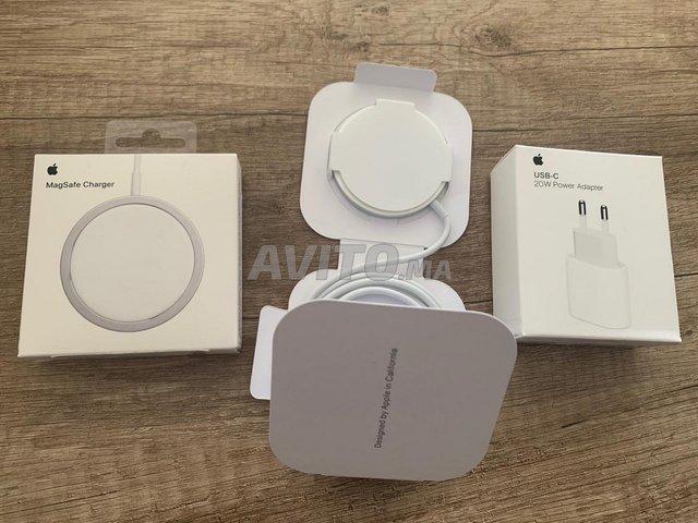 Chargeur sans fil magsafe avec adaptateur  - 2