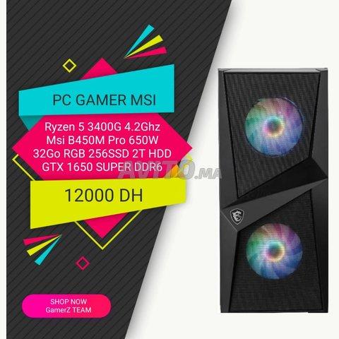 PC GAMER MSI 32Ram 256SSD 2To HDD GTX 1650 Super - 1