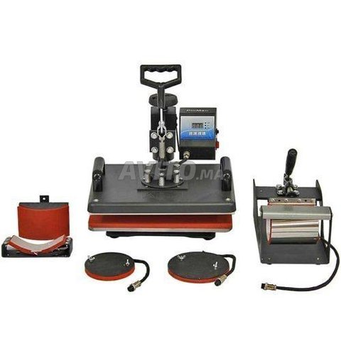 Heat press 5 in 1  imprimante epson l3110 - 2
