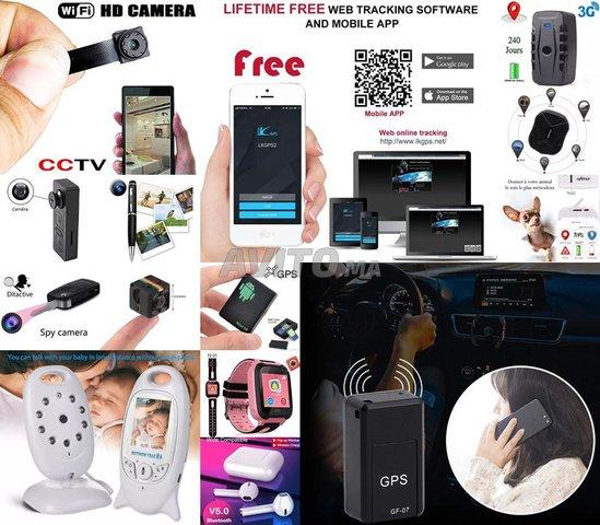 GPS - Mini Caméra - Petit Micro - Babyphone - 1